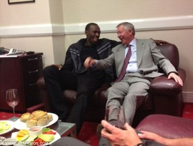 Bolt a Sir Alex Ferguson