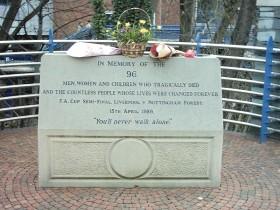 Památník obětí Hillsborough