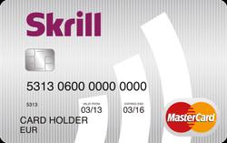 Platební karta Skrill