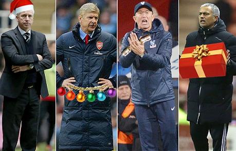"""Mají """"větší"""" týmy výhodu ve vánočních zápasech Premier League?"""
