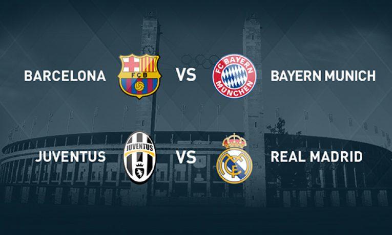 Kdo si zahraje finále Ligy mistrů?