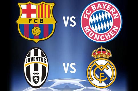 Kdo lépe zvládne odvety semifinále Ligy mistrů?
