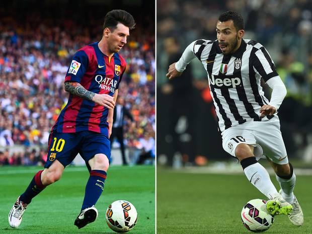 Barcelona vs. Juventus