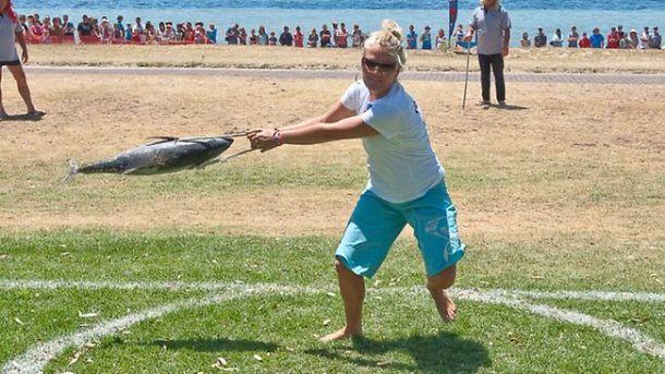 Házení tuňákem