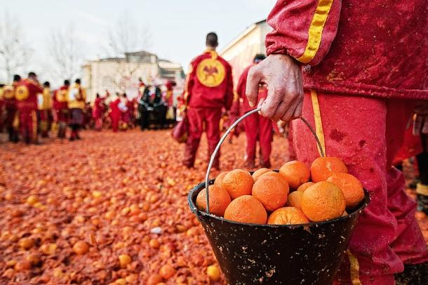 Bitva pomerančů