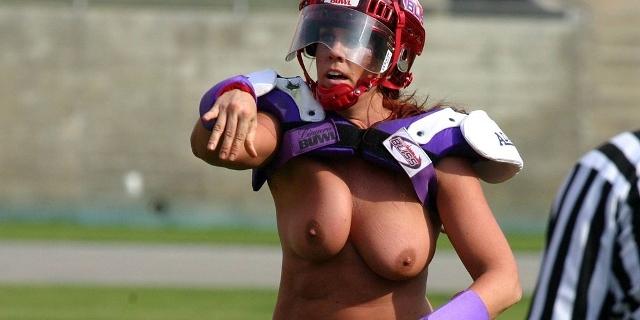 FOTO: Polonahé holky hrají americký fotbal