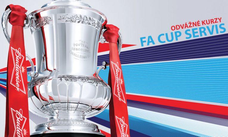 Víkendový servis na FA Cup přináší odvážné kurzy!