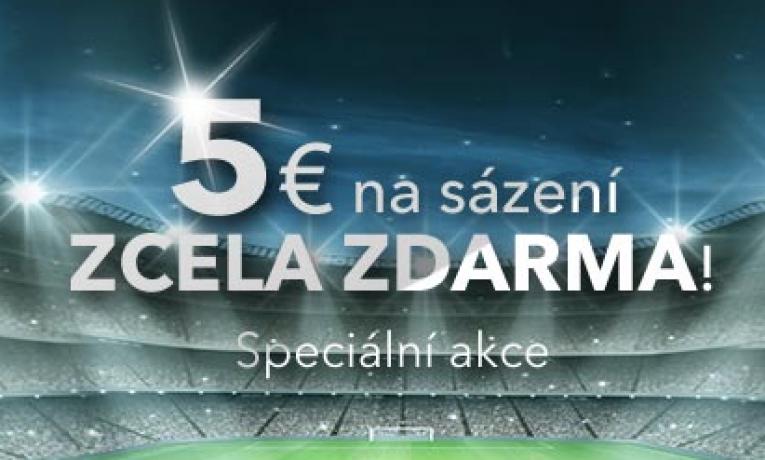 DOXXbet nabízí 5 Eur zdarma!