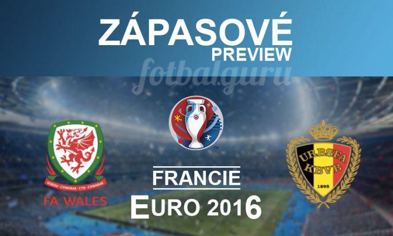 EURO 2016: Wales – Belgie (1.7.)