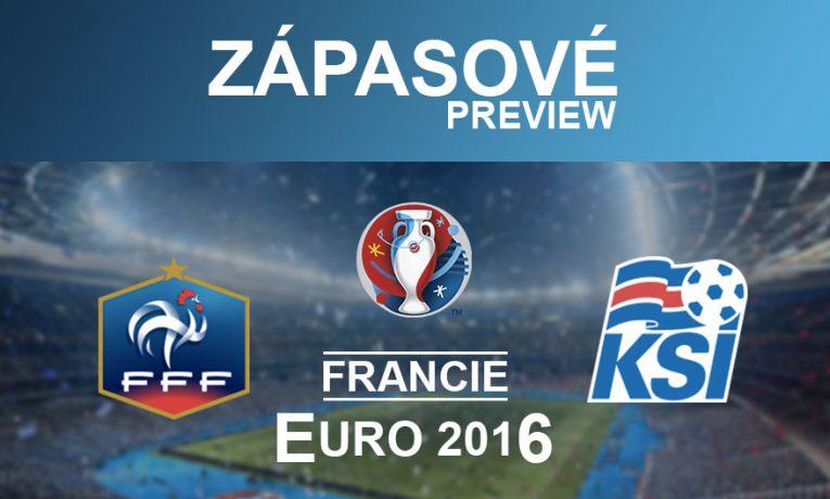 EURO 2016: Francie – Island (3.7.)