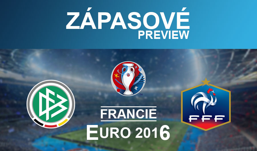 EURO 2016: Německo – Francie (7.7.)