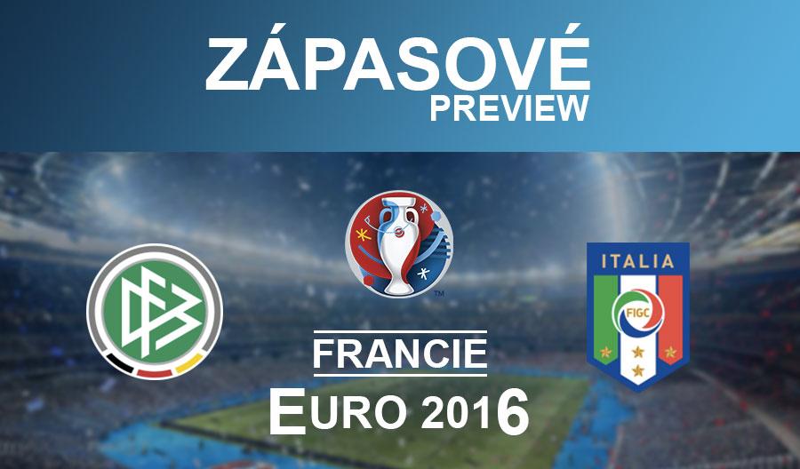 EURO 2016: Německo – Itálie (2.7.)