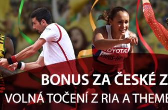 200 Kč za každé české zlato + 10 free spinu na autmatu