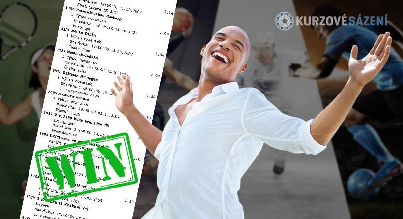 4 sázkaři vyhráli přes 200 tisíc, každý za použití jiné strategie!