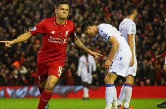 Liverpool chce s Crystal Palace pokračovat v prudké ofenzivě