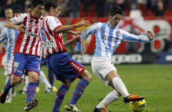 Sporting Gijon zajíždí do Malagy