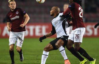Sparta proti Hapoelu hájí 1. místo. S 11 hráči A týmu