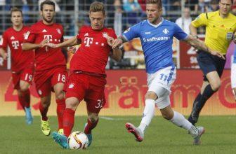 Poslední přivítá prvního: Darmstadt hostí Bayern