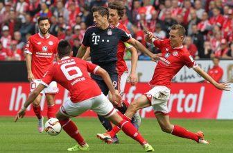 Vyhraje Bayern na Mainzu popáté v řadě?