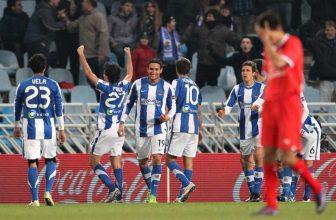 Sevilla v sobotu večer na půdě Realu Sociedad