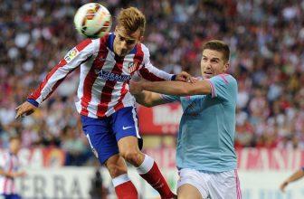Atletico Madrid zabojuje s Celtou Vigo