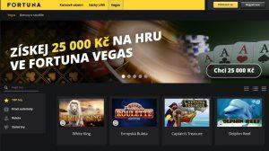Fortuna má online casino