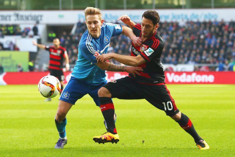 Předposlední HSV hostí Leverkusen ze středu tabulky