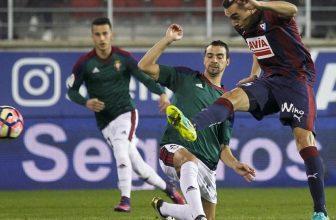 Osasuna a Eibar v pondělní dohrávce La Ligy