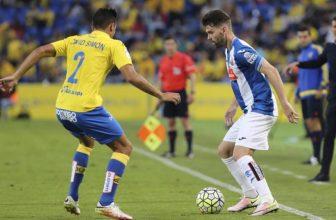 Espanyol a Las Palmas si to rozdají v páteční předehrávce