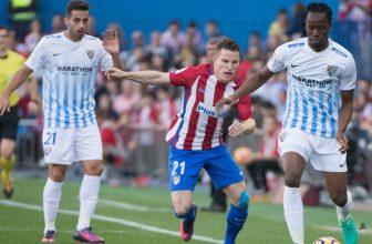Patnáctá Malaga přivítá čtvrté Atletico