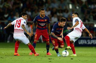 Tvrdý souboj o body mezi Barcou a Sevillou