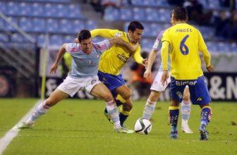 Celta Vigo a Las Palmas v pondělní dohrávce