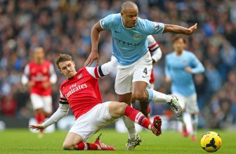 Velký zápas mezi Arsenalem a City