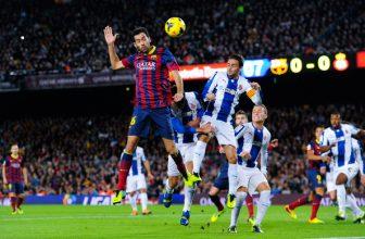 Katalánské derby mezi Espanyolem a Barcelonou