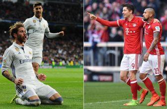 Odveta LM mezi Realem a Bayernem