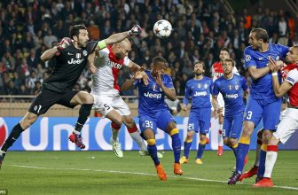 Druhé semifinále LM obstarají Monaco a Juventus