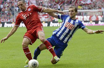 Hertha si to doma na Olympijském stadionu rozdá se šampionem Bayernem