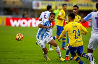 Malaga s Las Palmas v pondělní dohrávce
