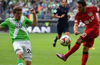 Leverkusen v neděli po obědě s Wolfsburgem
