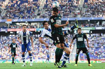 Barcelonský Espanyol zkusí doma urvat body proti Realu Betis