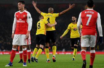 Menší londýnské derby mezi Watfordem a Arsenalem