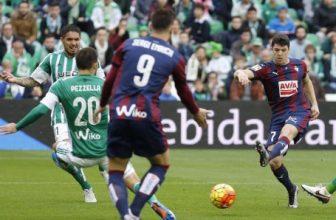 La Liga se hraje i v pondělí: Eibar – Real Betis