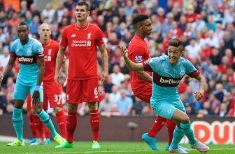 Liverpool si zkusí zlepšit postavení v tabulce na West Hamu
