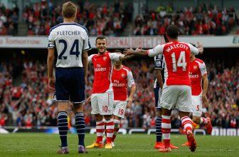 Předposlední West Brom v neděli přivítá Arsenal