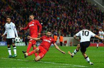 Spartak Moskva se ukáže na Anfield, musí zde vyhrát
