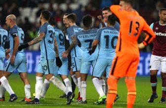 Suverénní Man City si doma s West Hamem asi nepěkně pohraje