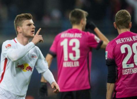 RB Lipsko - Hertha Berlín