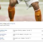 Rozbor tiketu: Jak díky sázení na góly vyhrál 53 tisíc?