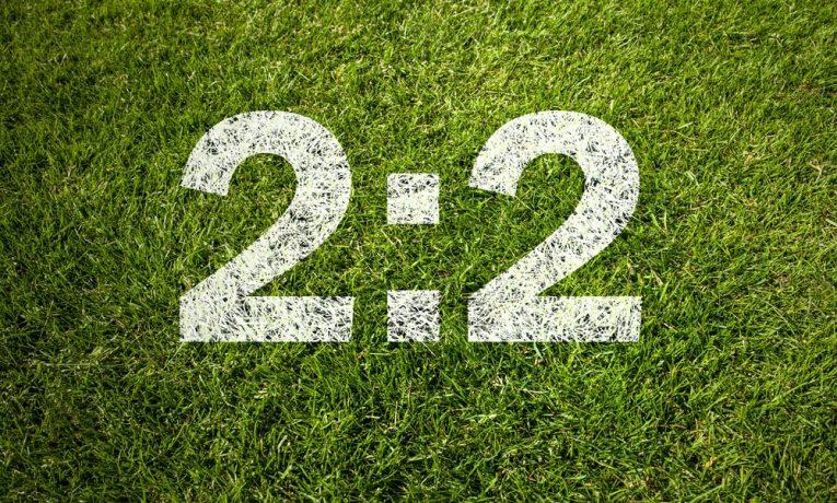 Sázení na fotbal: Jak předpovědět remízu?