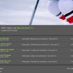 Rozbor tiketu z NHL: Kterých 5 střelců zařídilo z 6 stovek 425 tisíc?